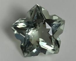 ⭐Unique Cut Green Amethyst  (Prasiolite) - no reserve