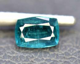 1.35 Carats Natural Parabia Color Tourmaline Gemstone