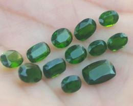 7.65 Carats  Natural Chrome Diopside Gemstone PARCEL