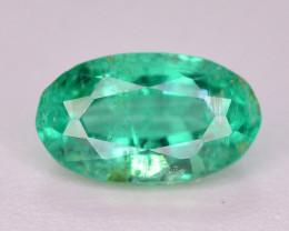 Superb Color 0.50 Ct Natural Emerald From Panjsher. ARA