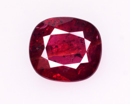 CERT~  3.05 Ct Natural Ruby From Mozambique