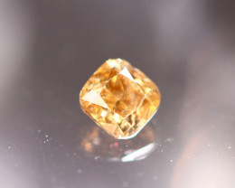 0.18Ct Untreated Fancy Diamond Natural Color Z130