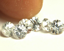 2.1 Tcw. White Southeast Asian Zircon Accents - Gorgeous