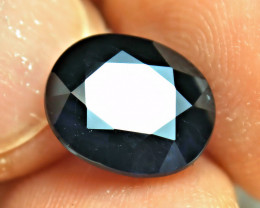 7.29 Carat Blue / Black African Sapphire - Gorgeous