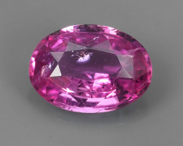 1.15 CTS AWESOME SRILANKA PINK SAPPHIRE FACETED GENUINE OVAL