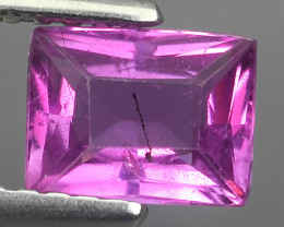 1.00 CTS EXCELLENT BEAUTIFUL SAPPHIRE PINK OCTOGON GEMSTONE