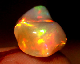 3.05 Crt Natural Ethiopian FreeForm Welo Fire Opal Carvin 43
