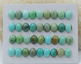 39cts Lucky Turquoise ,Handmade Gemstone ,Turquoise Cabochons ,Lucky Stone