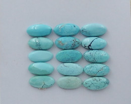 22Cts Lucky Turquoise ,Handmade Gemstone ,Turquoise Cabochons ,Lucky Stone
