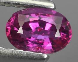 NATURAL PINK SAPPHIRE FACETED  OVAL SRILANKA