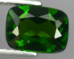 1.45 CTS NATURAL ULTRA RARE CHROME GREEN DIOPSIDE CUSHION RUSSIA