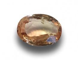 Natural Orangish Pink Sapphire|Loose Gemstone|New| Sri Lanka