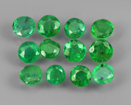 ~EXCELLENT~NATURAL EMERALD ~ ROUND ~ NICE QUALITY GOOD COLOR~