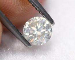 0.49Ct Untreated Round Brilliant Cut White Diamond C1407
