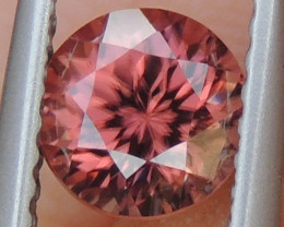 1.18cts, Orange Zircon, Tanzania,  Master Cut