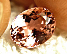 CERTIFIED - 4.30 Carat Pink IF/VVS1 Tourmaline - Superb