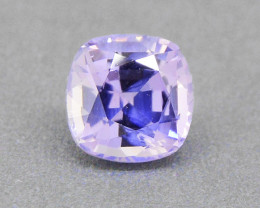 Violet Sapphire UNHEATED 0.45ct Good Brilliance, well-cut(01587)
