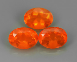 1.55 CTS BEST QUALITY~TOP COLOR EXTREME WONDER LUSTROUS GENUINE FIRE OPAL!