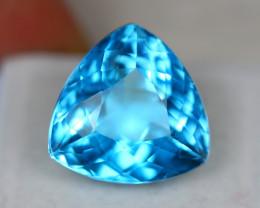20.67Ct Swiss Blue Topaz Trillion Cut Lot LZ1