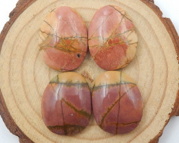 New Multi Color Jasper Gemstone Cabochons Jasper Cabochon, Polished Gem C83