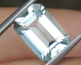2.58cts  Aquamarine,   Clean, Unheated