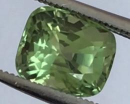 Pretty Bright Green Cushion Cut Peridot - Burma G592