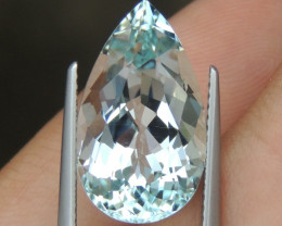 9.21cts  Aquamarine,   Clean, Unheated
