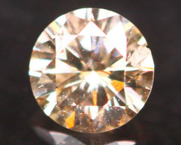 0.13Ct Fancy Light Brown Natural Diamond B1504