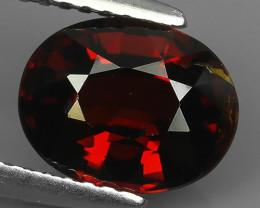 2.90CTS DAZZLING GOOD LUSTER 100% NATURAL GARNET GEM STONE
