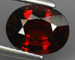 2.35 CTS DAZZLING GOOD LUSTER 100% NATURAL GARNET  GEM STONE