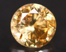 0.19Ct Untreated Fancy Diamond Natural Color F12