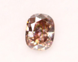 0.29cts Argyle Peach Pink Fancy Natural Diamond JJ10