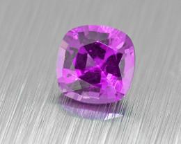 UNHEATED Purple Sapphire .37ct lovely colour (01535)