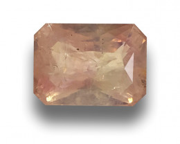 Natural unheated Pinkish Yellow Sapphire |Loose Gemstone|Sri Lanka