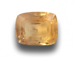 Natural Unheated Yellow Sapphire|Loose Gemstone| Sri Lanka - New