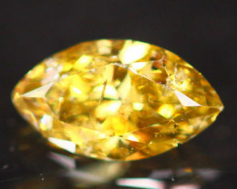 0.14Ct Untreated Fancy Diamond Natural Color P08