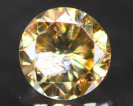 0.13Ct Untreated Fancy Diamond Natural Color P10