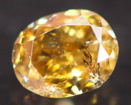 0.17Ct Untreated Fancy Diamond Natural Color P11