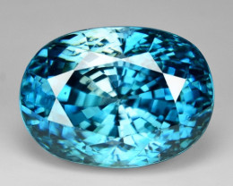 13.00 Ct Natural Zircon Awesome Color and Luster Gemstone Z1
