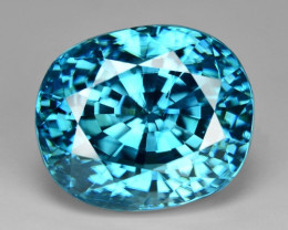 6.70 Ct Natural Zircon Awesome Color and Luster Gemstone Z2