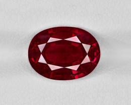 Ruby, 4.10ct - Mined in Madagascar | Certified by IGI