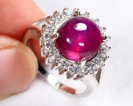34cts 925 Sterling Silver Ring JJ21