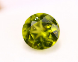 4.27ct Green Peridot Round Cut Lot V4338