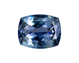 1.73 ct Gorgeous Top Color IF Natural Tanzanite Certified