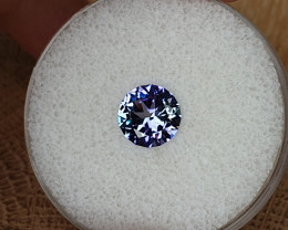 1,95ct bicoloured Tanzanite - Master cut!