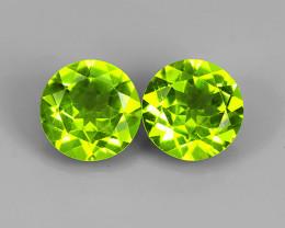 3.75 Ct./7.90 mm. Huge! Green Natural Peridot Round Pakistan!!