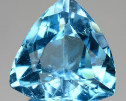 23.37 CTS FANCY SWISS BLUE COLOR  TOPAZ NATURAL GEMSTONE