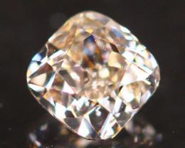 Natural Argyle 0.26Ct Fancy Peach Pink Natural Diamond A1703