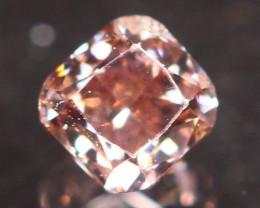 Natural Argyle 0.17Ct Fancy Vivid Purplish Pink Natural Diamond C1702