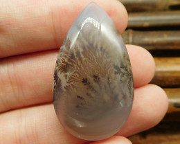 Montana agate cabochon teardrop cabochon (G0454)